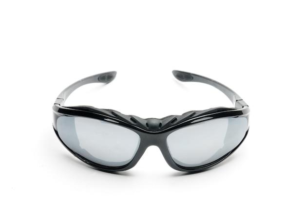 白のユースサングラス Premium写真