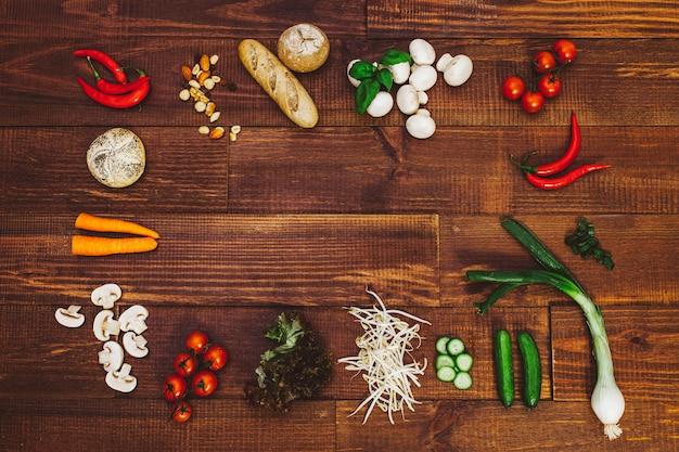 Образ жизни для вегетарианцев Premium Фотографии