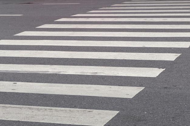 Zebra crossing Premium Photo