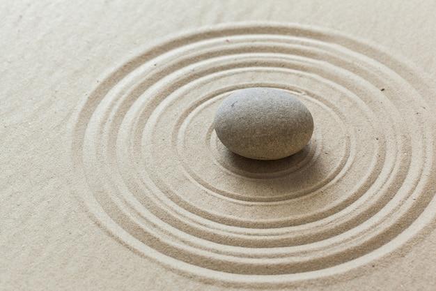 Zen stone garden Premium Photo