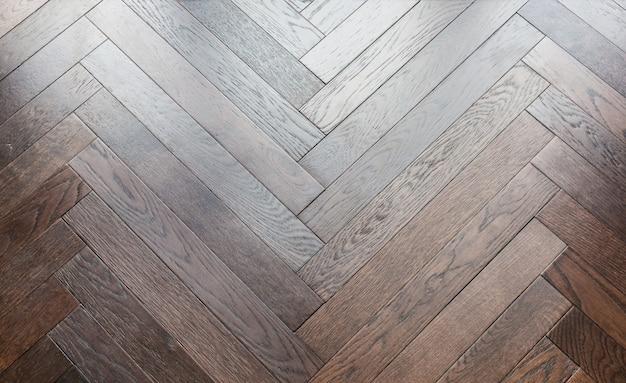 Zigzag Herringbone Wooden Floor Pattern Background Photo