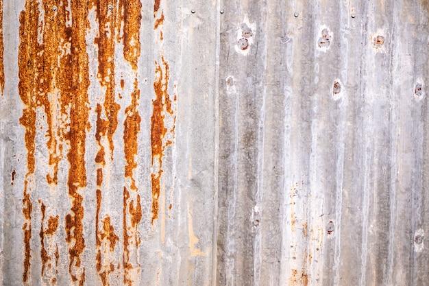 Zinc texture, zinc background, zinc rust wallpaper background for design materials Premium Photo