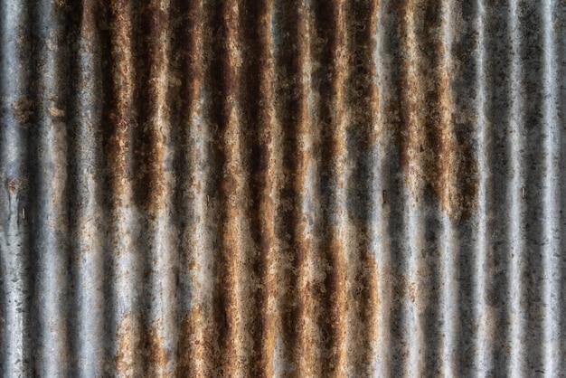 質感と背景のための錆びたzine表面 Premium写真