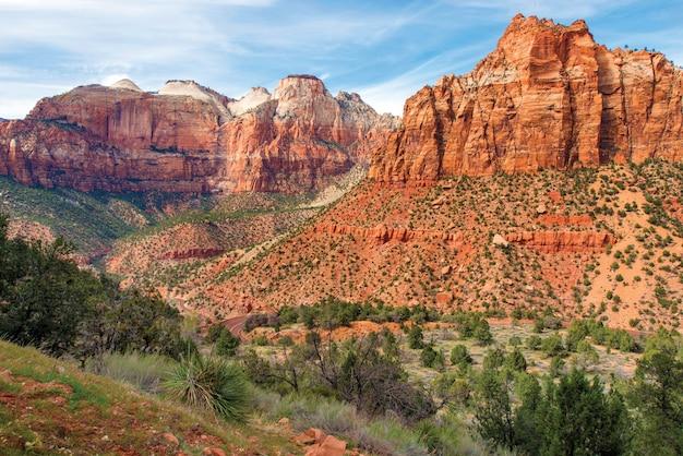 Zion park landscape utah Free Photo