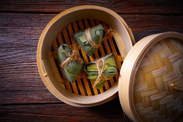 Zongziもちもちもち餃子レシピ Premium写真