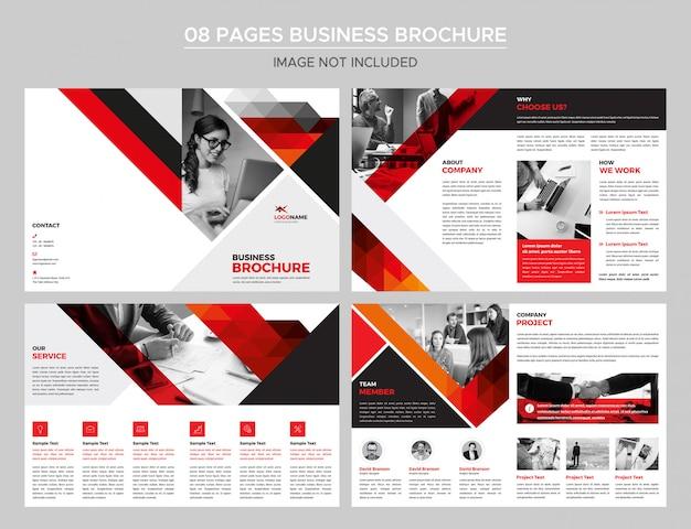 08ページビジネスパンフレット Premium Psd