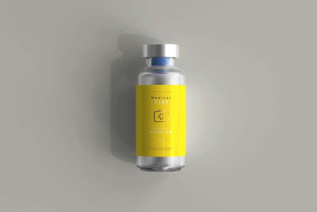 Flacone da 10 ml mock up Psd Gratuite