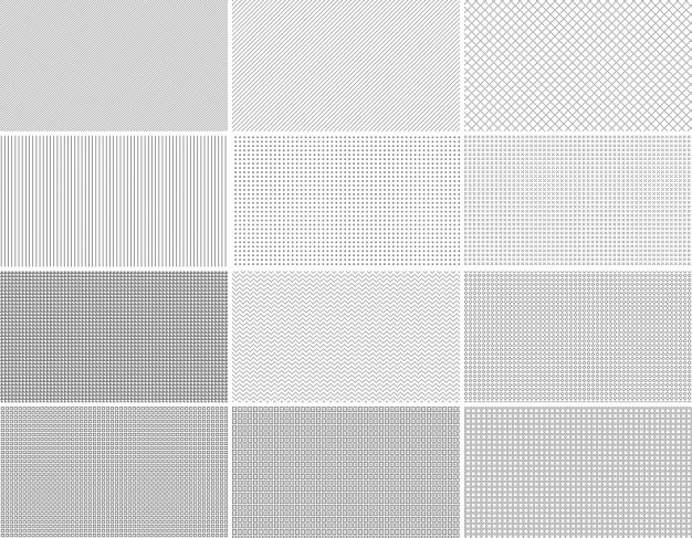 40 Repeatable Pixel Patterns PSD File Free Download Custom Pixel Patterns