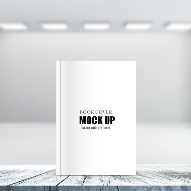 3d editable product book cover mock up Premium Psd