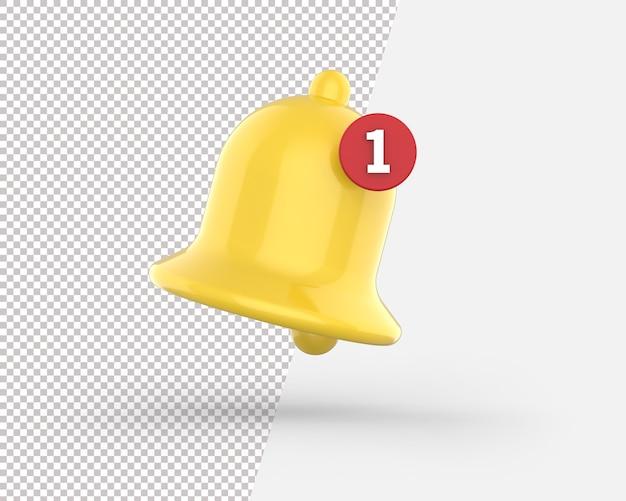 Значок колокольчика Premium Psd