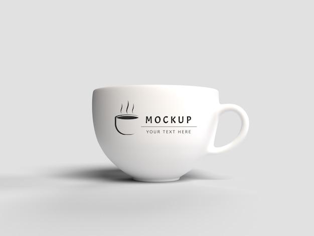 3d rendering mug mockup isolated Premium Psd