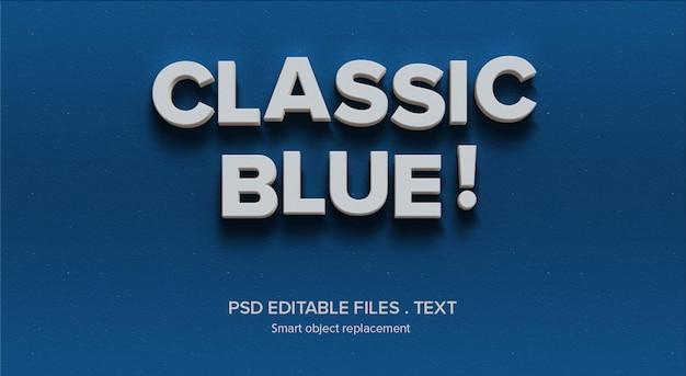 3dテキストスタイルエフェクトモックアップ Premium Psd