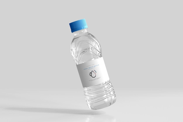 500ml淡水ボトルモックアップ 無料 Psd