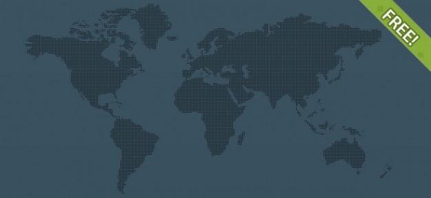 6 free pixel world maps psd file free download 6 free pixel world maps free psd gumiabroncs Choice Image