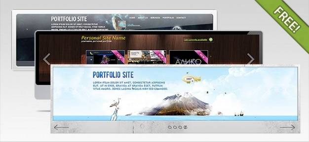 Free html website template with slider website templates free.