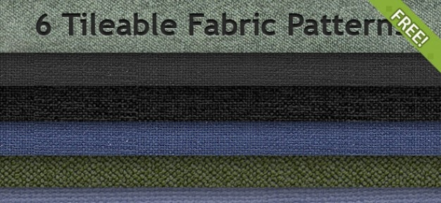 6 Free Tileable Fabric Patterns Free Psd