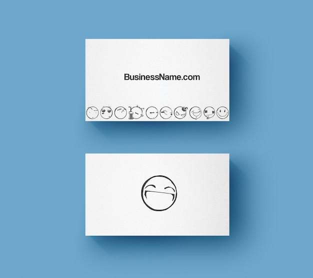 Улыбка визитка Premium Psd