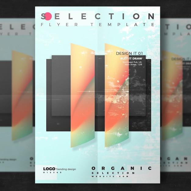 Плакат творческого дизайна Бесплатные Psd