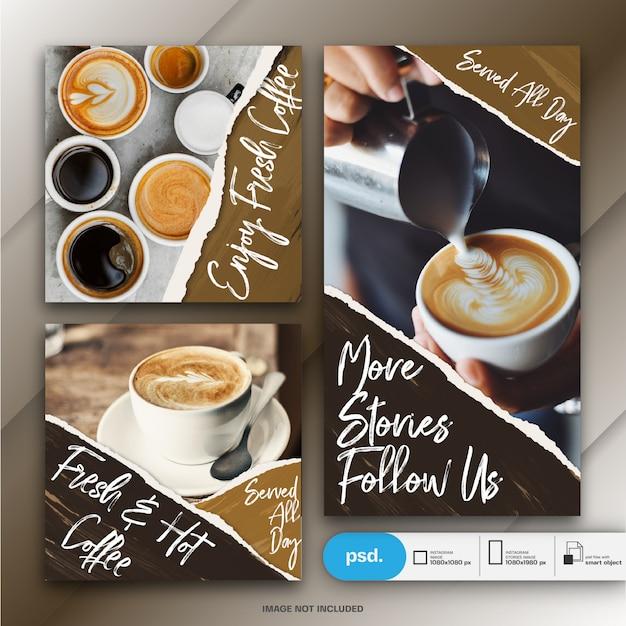 Бизнес-маркетинг социальные медиа баннер шаблон Premium Psd