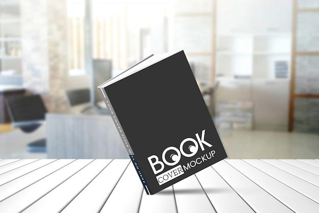 本のモックアップ Premium Psd