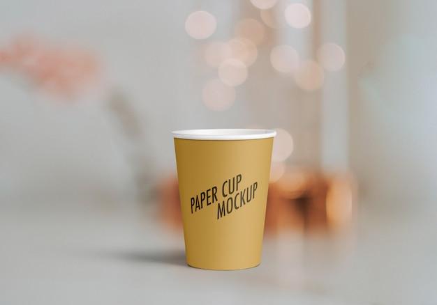 紙コップのモックアップ Premium Psd