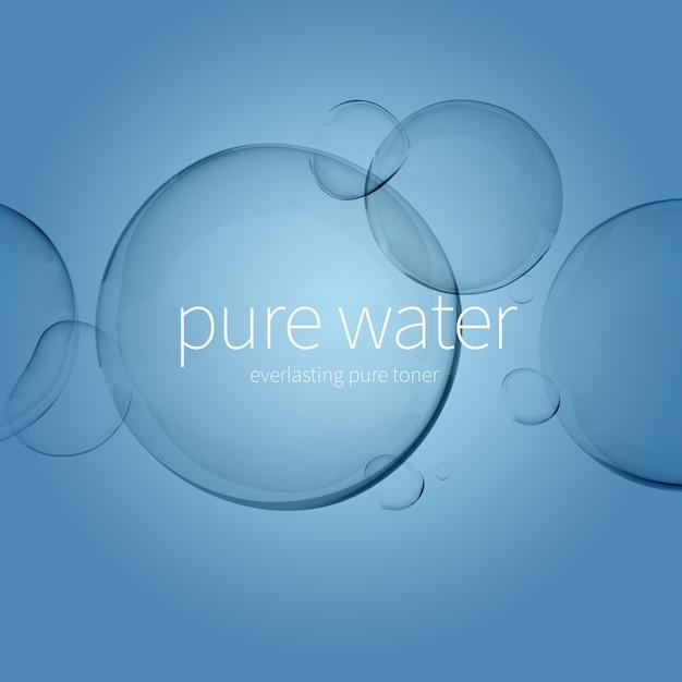 透明な水滴 Premium Psd