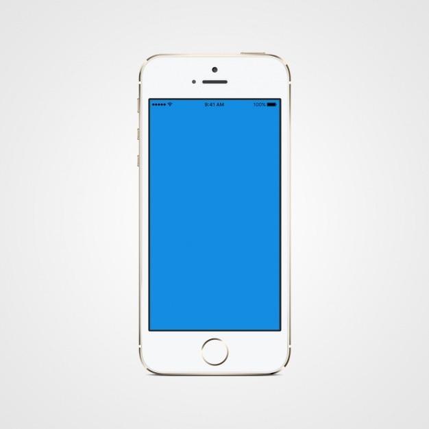 携帯電話のモックアップデザイン 無料 Psd