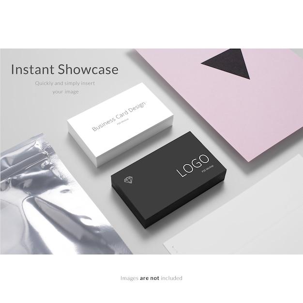 Элегантная визитная карточка Бесплатные Psd