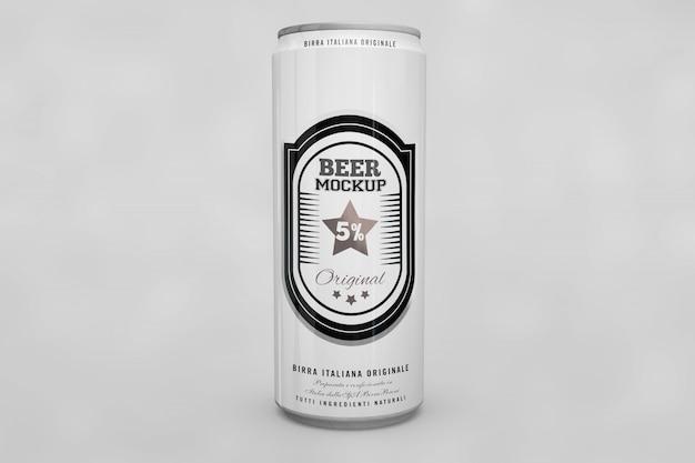 ビールはモックアップできます 無料 Psd