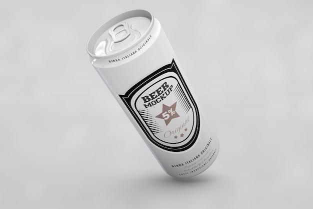 ロングビールはモックアップできます 無料 Psd