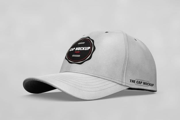 現実的な帽子のモックアップ 無料 Psd