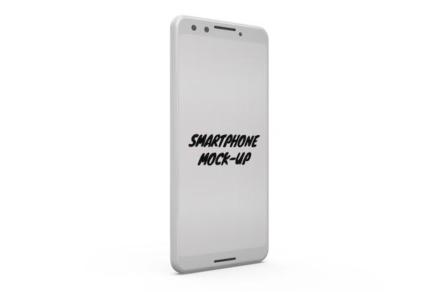 スマートフォンのモックアップ絶縁 無料 Psd