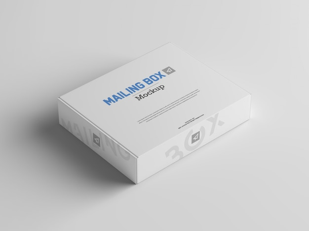 郵便ボックスのモックアップ Premium Psd