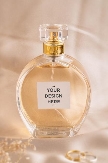 香水ラベルモックアップ Premium Psd