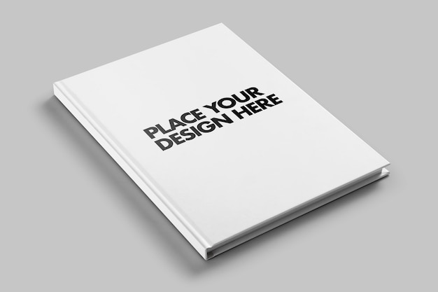 Шаблон макета журнала в твердом переплете Premium Psd