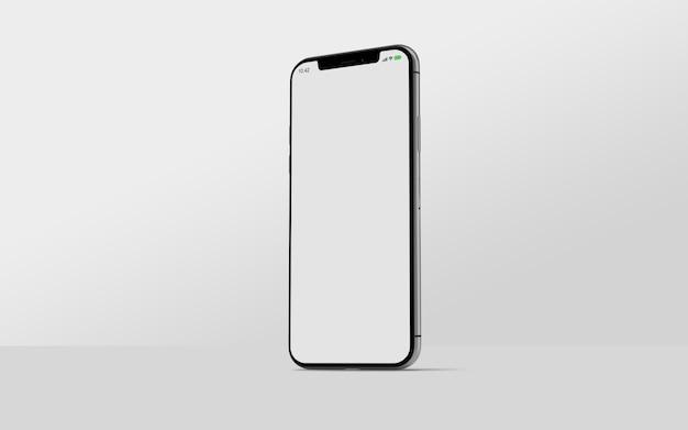 Вид сбоку макета смартфона Premium Psd