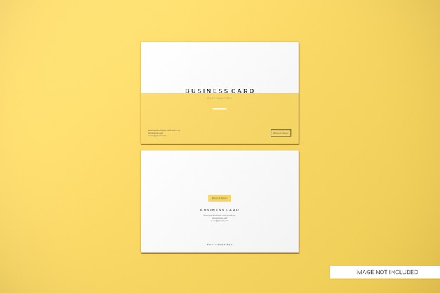 Макеты визиток Premium Psd