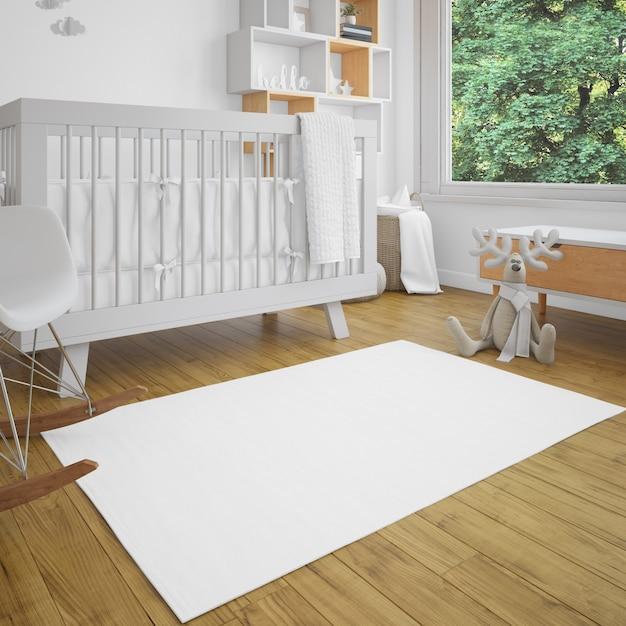 明るさのある赤ちゃんの部屋 無料 Psd