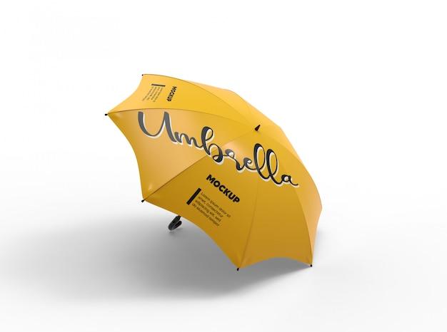 傘のモックアップ Premium Psd