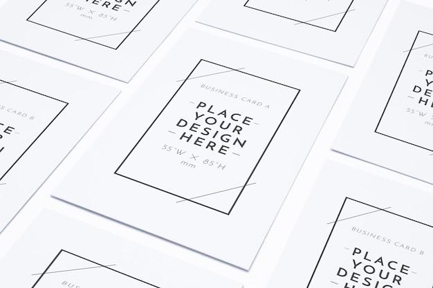 空白のビジネスポスターパターン 無料 Psd
