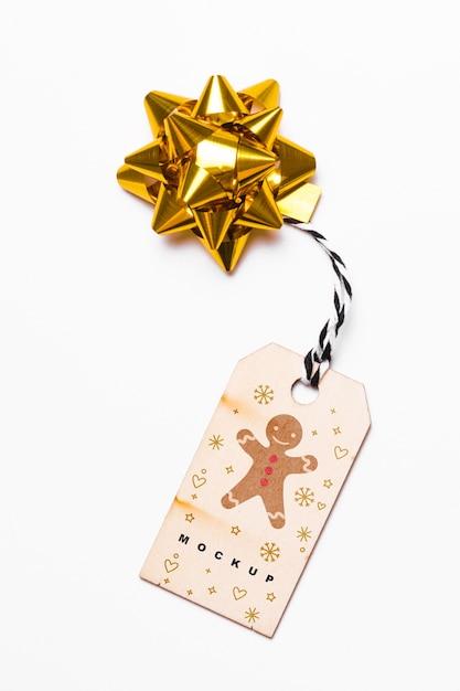Яркий макет с концепцией рождества Бесплатные Psd