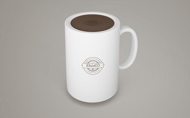 商品のコーヒーマグモックアップ 無料 Psd