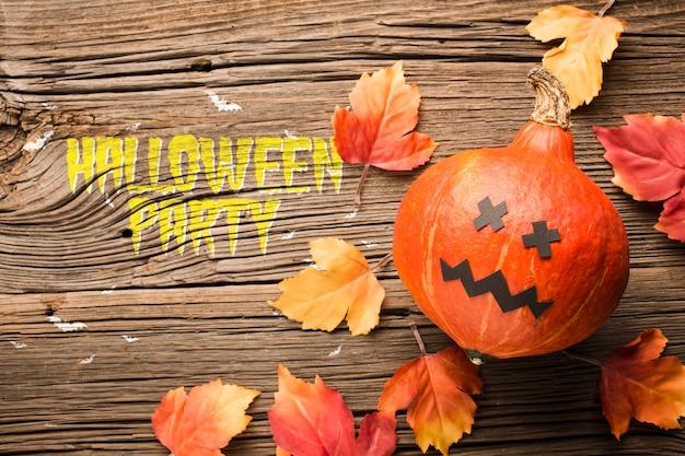 Декоративная тыква на хэллоуин Бесплатные Psd