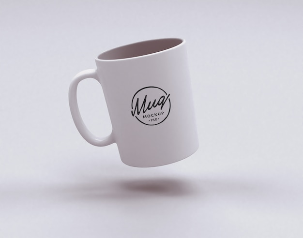 ホワイトマグカップ Premium Psd