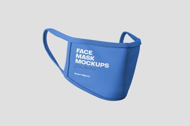 Макет маски для лица Premium Psd