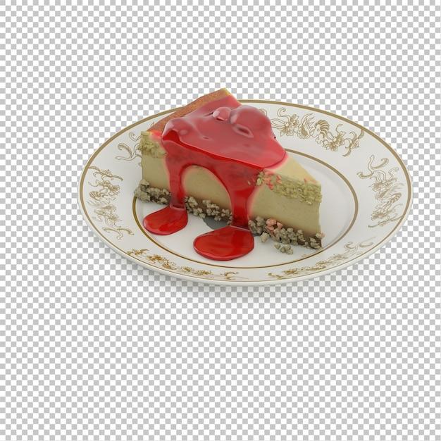 アイソメケーキ Premium Psd