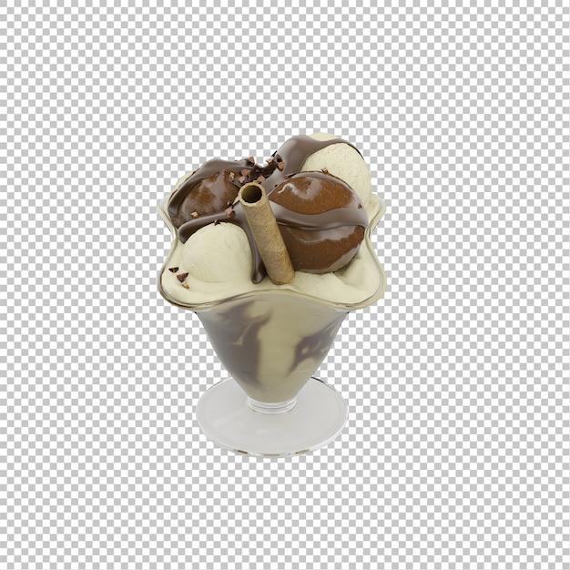 等尺性デザート Premium Psd