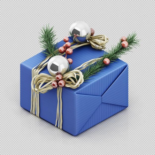 Рождественские подарки Premium Psd