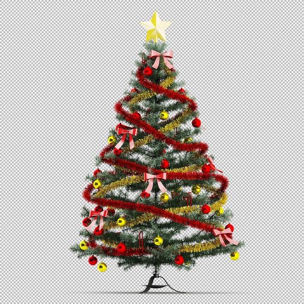 クリスマスツリー Premium Psd
