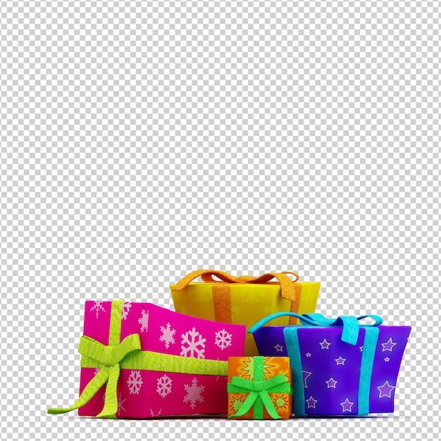 クリスマスボックス Premium Psd
